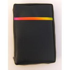 """7) Modell """"Mix"""" - """"Regenbogen"""" - schwarz - für Format: 18,5 x 12,2 x 3,9 cm"""