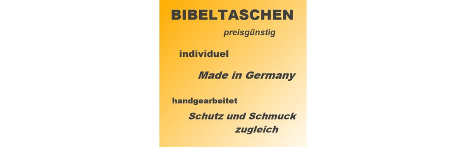 Bibeltaschen